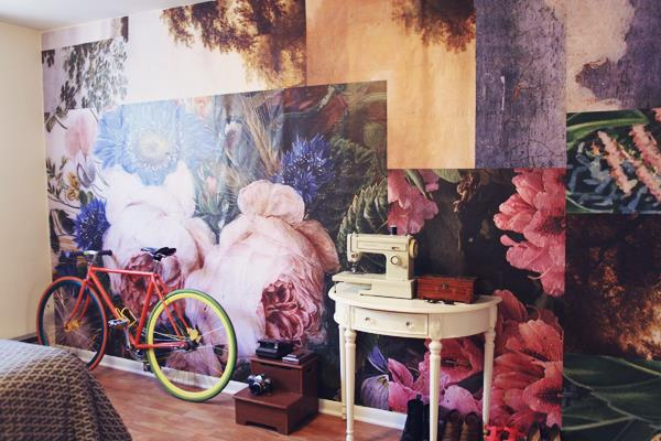 Eye catching wall mural ideas for your interior for Diy photographic mural
