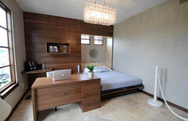 Murphy bed design ideas smart solutions for small spaces for Where can you work as an interior designer