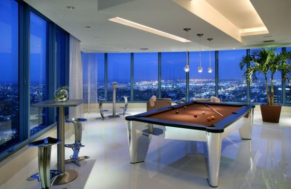 Indulge your playful spirit with these game room ideas for Pool design game