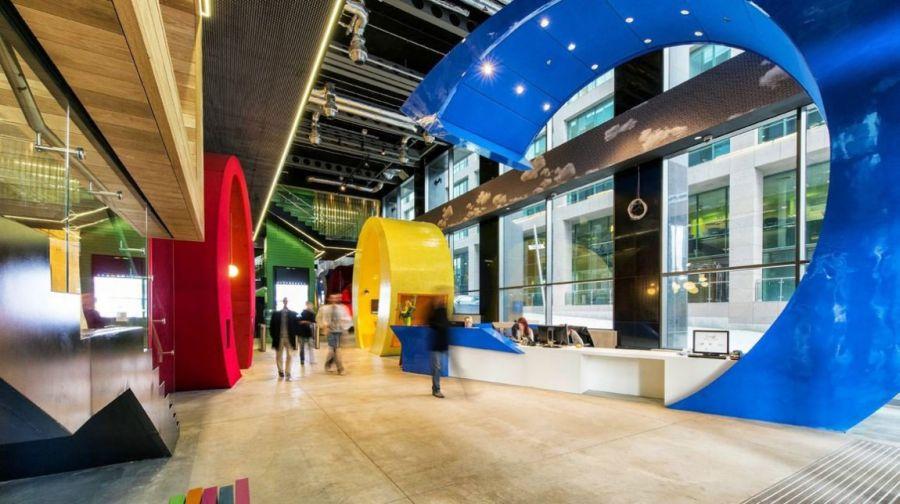 Entrance of the Google Dublin Campus