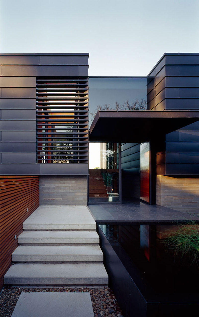 Stylish balmoral house sports spacious interiors and a for Simple modern house architecture