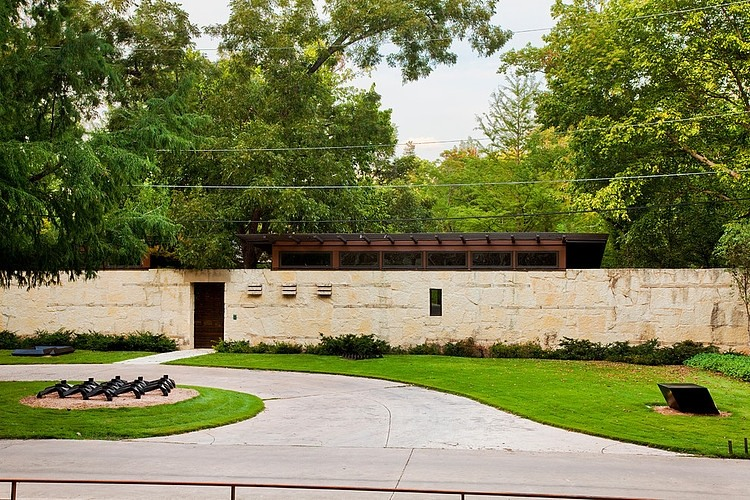 Garden at Lakefront Residence in Austin, Texas