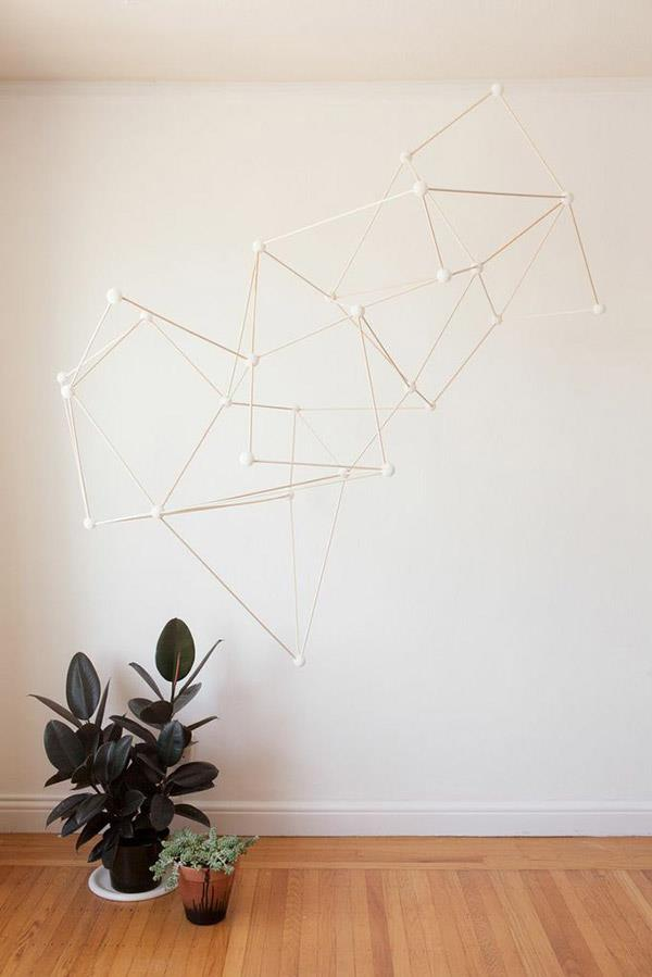 Geometric installation