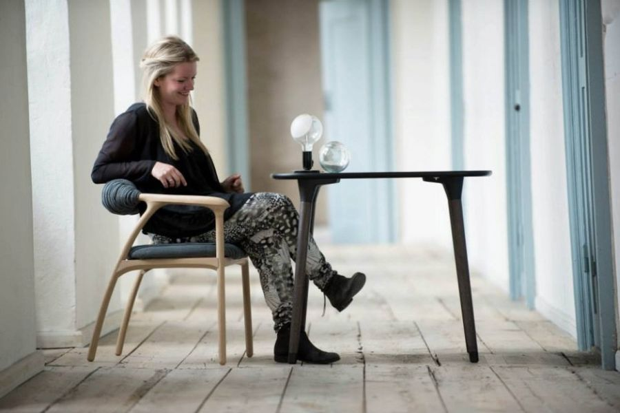 Haptic Chair by Trine Kjaer Design Studio Haptic Chair: Minimalist Design Stimulates Your Sense Of Touch!