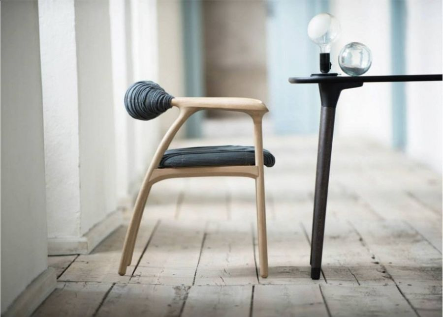 Haptic Chair combines minimalist form with special design