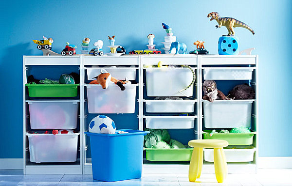 IKEA storage solutions for the modern nursery