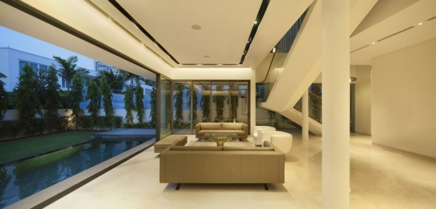 Interiors that connect with outside