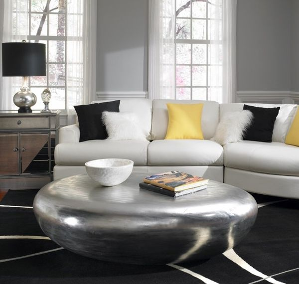 Living room embraces Hollywood Regency Style!