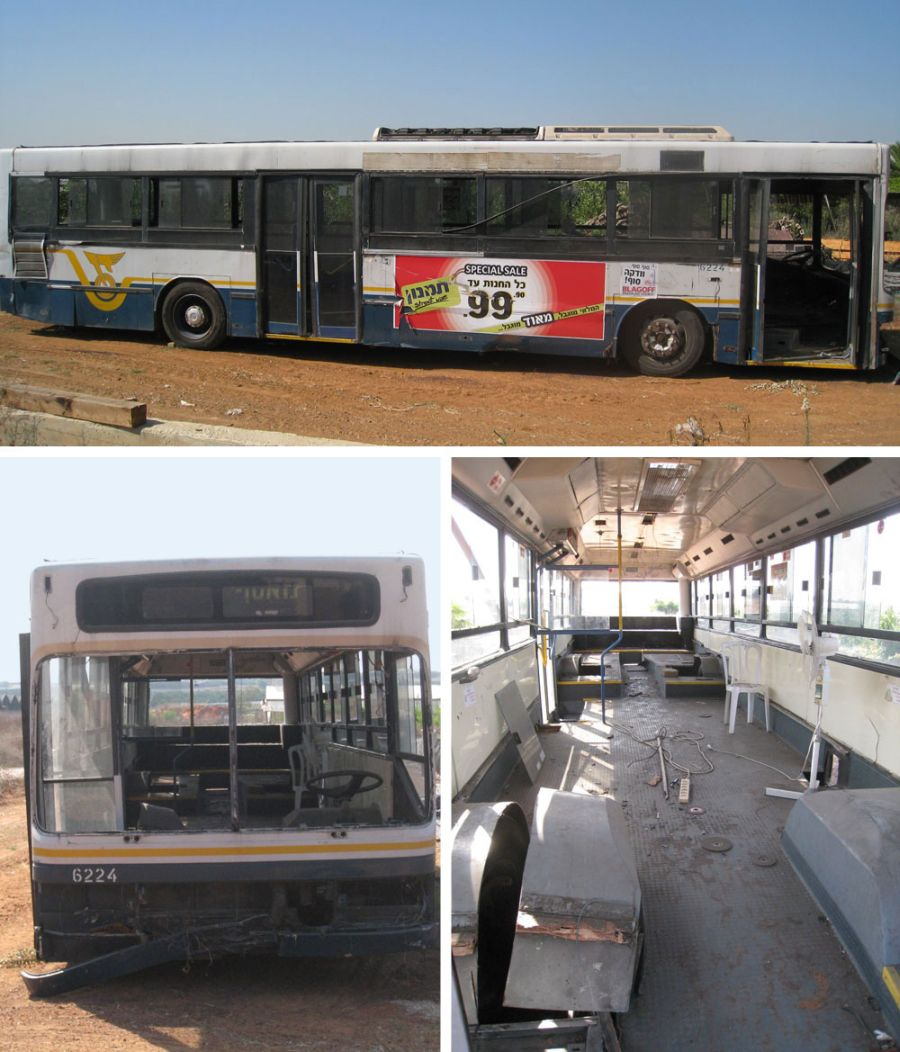 Look at the bus before revamp