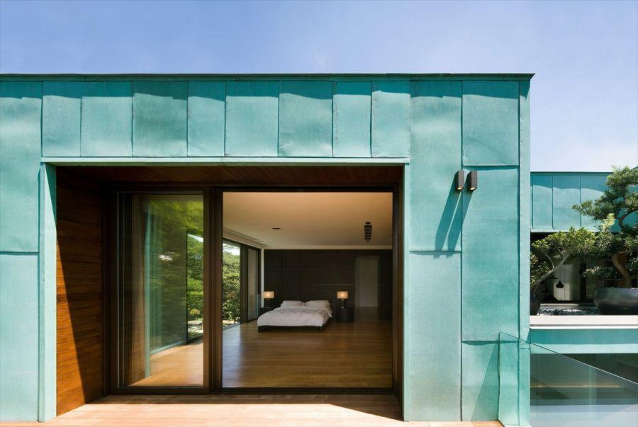 Look inside the modern bedroom