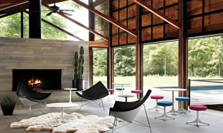 George Nelsons Coconut Chair Inspiration and Design Ideas