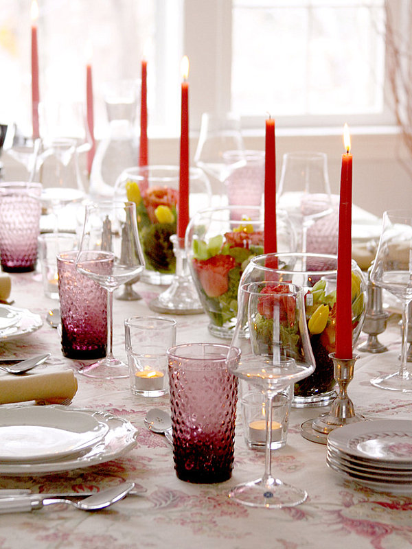 Lovely party table setting