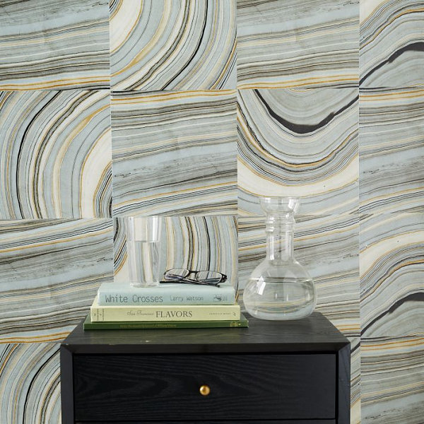 Marble tile wallpaper The Best Trends of the 2013 Fall Collections