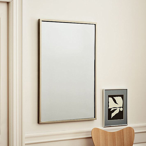 View In Gallery Metal Wall Mirror