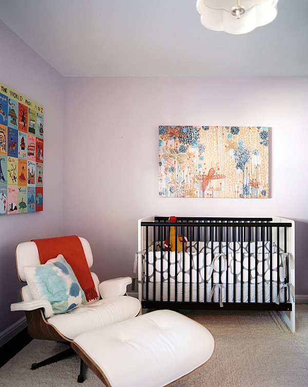 Midcentury Modern nursery Five Nursery Themes with Whimsical Style