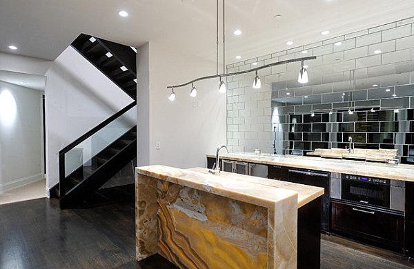 Mineral kitchen bar
