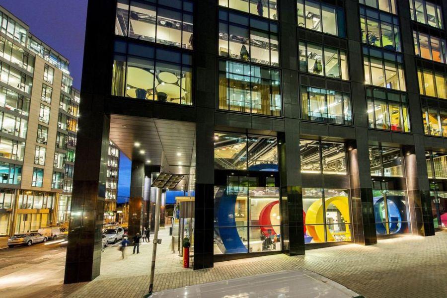 Modern Google Dublin Campus by Camenzind Evolution