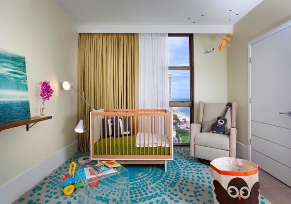 Modern chic nursery