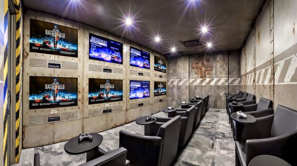 Modern makeovers - A cool multi player gaming room