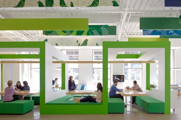 Bold Work Ideas: Office Designs For Tech Companies, Silicon Valley