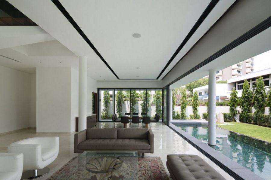 Open floor living plan