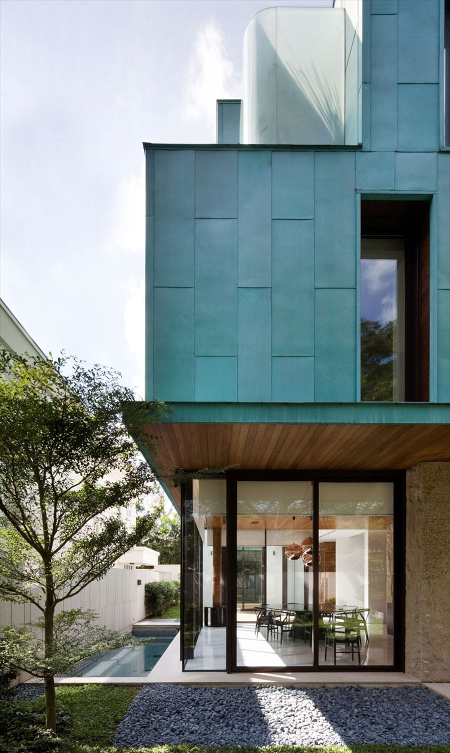 Metallic Exterior Meets Modern Interiors At Singapore S
