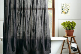More Modern Shower Curtain Finds for a Stylish Powder Room