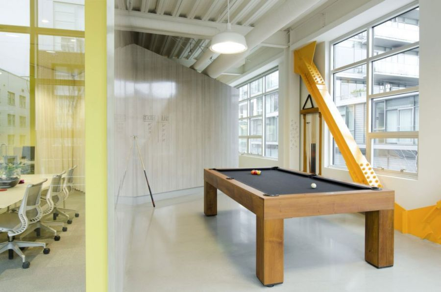 cool office space ideas. pool table in the office cool space ideas e