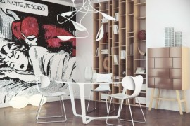 Comic Strip Decor Inspirations For The Contemporary Home!