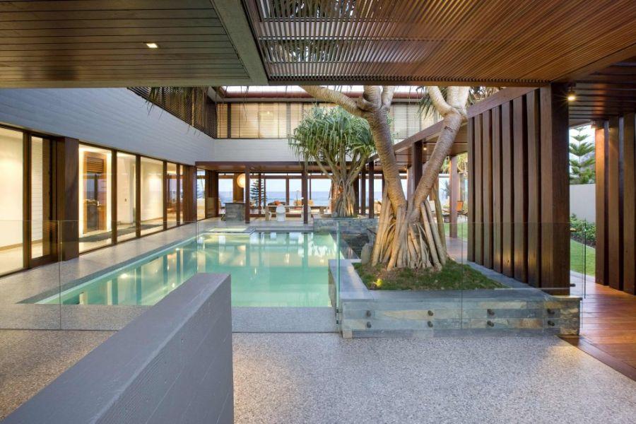 Refreshing pool at the Albatross Residence