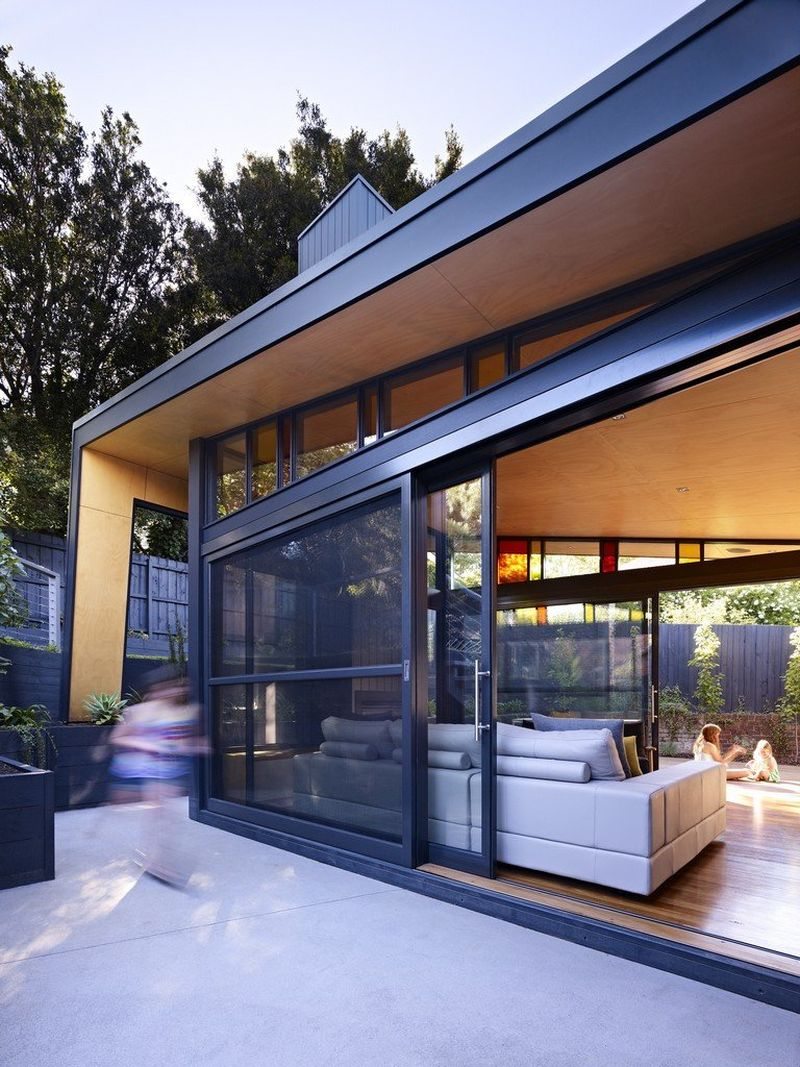 contemporary extension to a classic melbourne kew house
