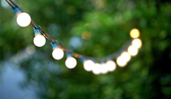 String lights set the mood