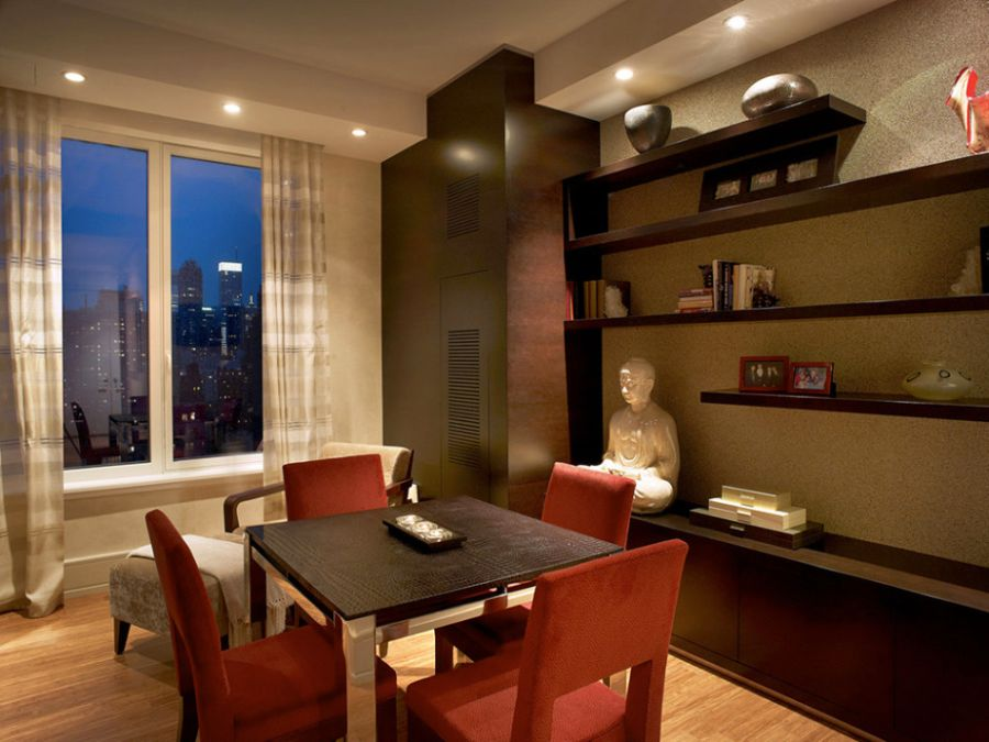 Stylish elements of Zen design in NYC Loft