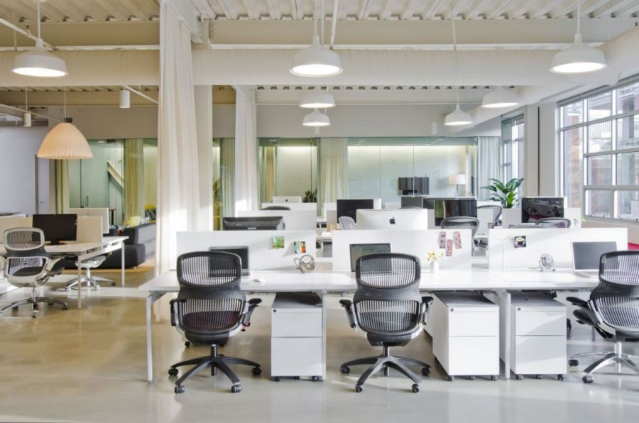 Cool Office Space For FINE Design Group By Boora Architects Cool How To Design An Office Space