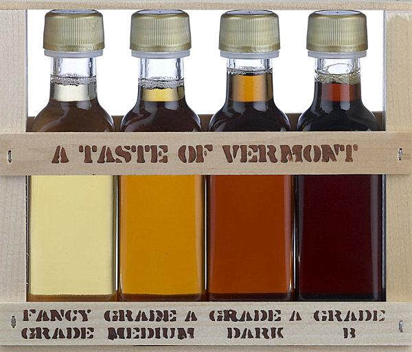 Syrup sampler
