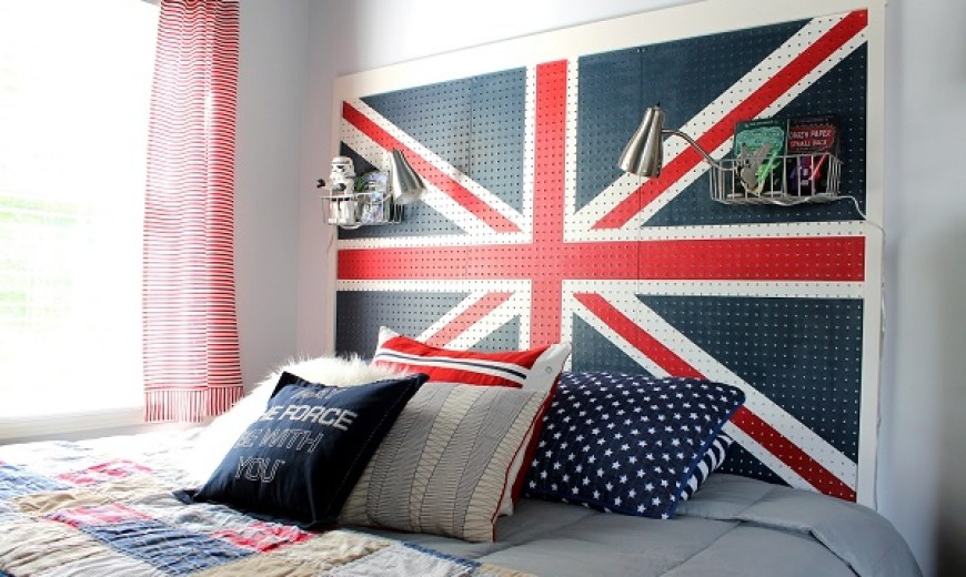 can you do interior design without a degree union jack bedroom design decoration DIY Union Jack Projects for Home