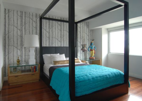 Use accent colors to bring a modern look