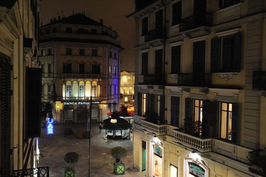 View of Turin outside Doria by Fabio Fantolino
