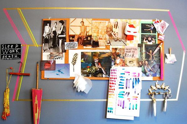 Vivid home office display