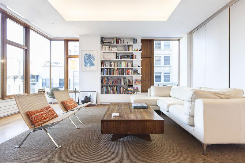 contemporary soho apartment in new york displays divine