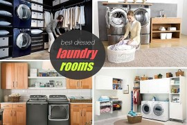 Best Dressed Laundry Room: Judging Together With Samsung