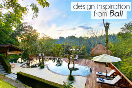 design inspiration from Bali