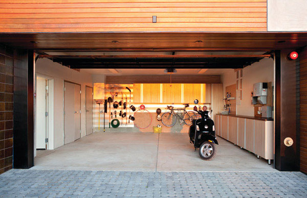 Dream Motorcycle Garages Park Your Ride In Style At Night