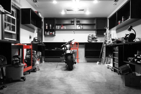 Elegant Motorcycle Garage Ideas Garagejournal.com Collections