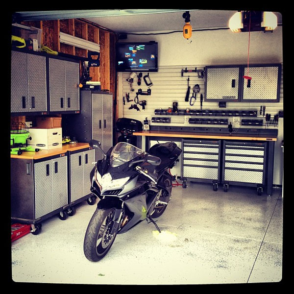 View In Gallery Dream Motorcycle Garage 16