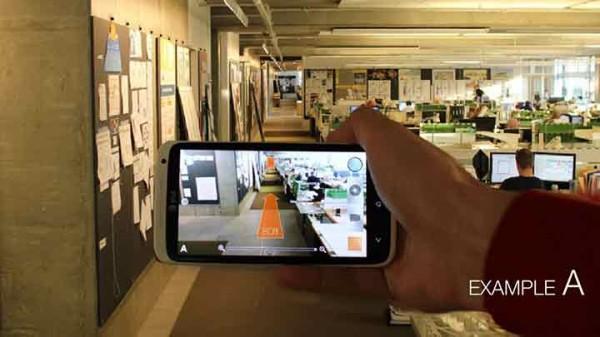 Google glass architectural design help and inspiration for Indoor navigation design
