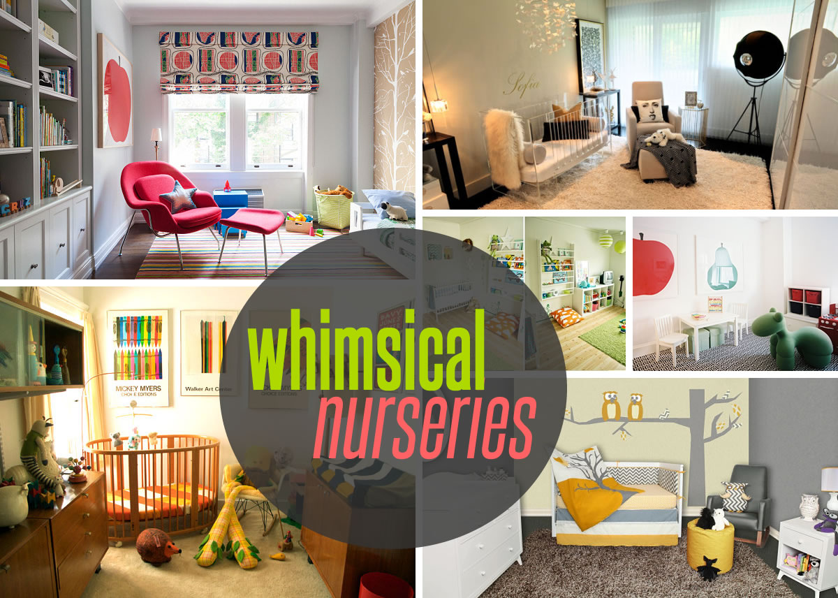 nurseries design themes Five Nursery Themes with Whimsical Style