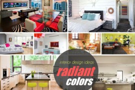 20 Spaces Featuring Radiant Color in Interior Design