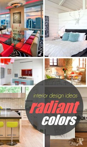 radiant colors home decor ideas