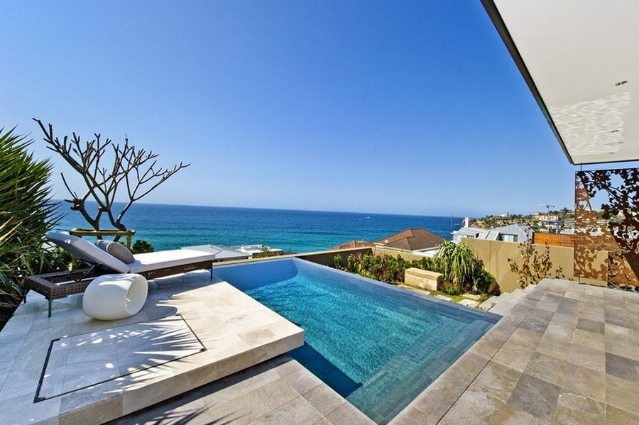 terrace with wonderful ocean views